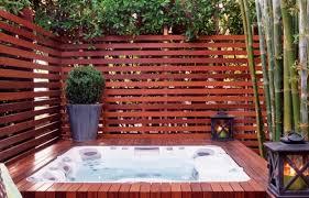 Backyard Ideas For Privacy 63 Tub Deck Ideas Secrets Of Pro Installers U0026 Designers