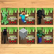 minecraft s day cards printable minecraft s cards