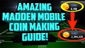 madden mobile 17 coin making method guide sniping filter that will