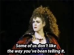 Bernadette Meme - mine into the woods joanna gleason bernadette peters into the woods