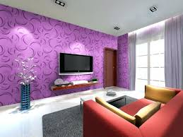 Home Decor Living Room And Purple Home Decor Living Room Design With Artworks Accents