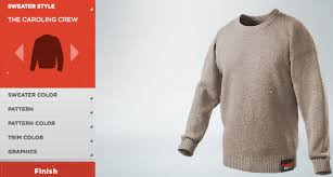 coca cola lets you create your own sweater