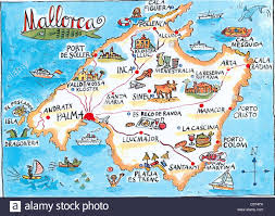 Mallorca Spain Map by Map Mallorca Maps Map Software Cartography Cartography Continent