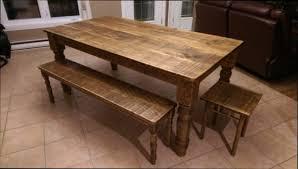 table cuisine bois brut table de cuisine en bois free ensemble table de cuisine et