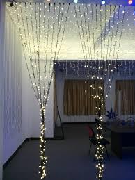 Indoor Curtain Fairy Lights Black Pvc Wire 2mx2m Indoor Christmas Wedding Warm White Led Fairy