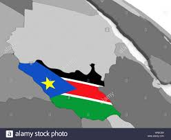 Old Sudan Flag South Sudan Map Flag On Stock Photos U0026 South Sudan Map Flag On