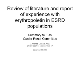 review of literature and report of experience with erythropoietin