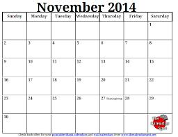 printable calendar november calendar template 2017