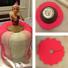 how to make a princess barbie cake with easy step by step tutorial