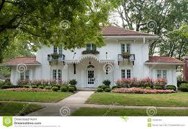 plantation style house plantation style house stock image image of home dwelling 15596453