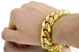 cuban gold bracelet images 20mm thick miami cuban solid gold bracelet jpg