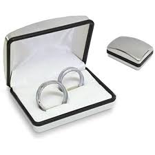 wedding rings in box personalised wedding rings box personalised wedding rings box 13 95