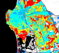 San Diego City Map by Population Density Maps San Diego Regional Data Library