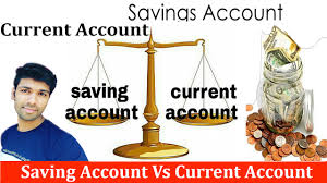 saving account vs current account what is difference