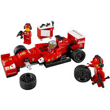 ferrari speed chions speed chions f14 t scuderia ferrari truck set 75913