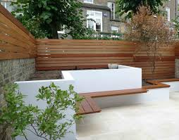 Paved Garden Design Ideas Landscape On Garden Design And Ideas Uk Inside Modern Slim