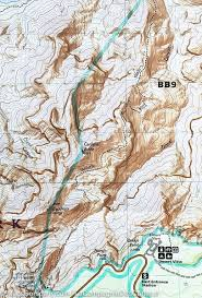 Grand Canyon Maps Trails Map Of Grand Canyon National Park Bright Angel Canyon