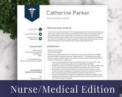modern resume exles for nurses professional and modern resume template for word and pages