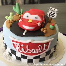 diy gâteau d u0027anniversaire cars de disney flash mcqueen cars