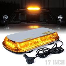 golf cart led strobe lights amazon com xprite 44 led 17 inch high intensity law enforcement