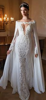 wedding dress with stunning wedding dress with lace and a cape lil bit more closed