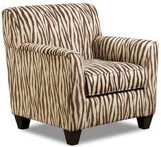funiture cute zebra accent chairs in bold fabric upholstery also