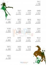 3 digit by 1 digit multiplication worksheets 3 digit by 4 digit drill archives kidspressmagazine