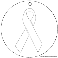 printable ribbon inspiring design cancer ribbon coloring pages printable breast