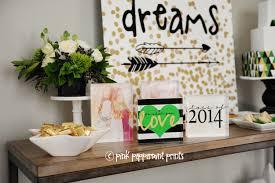 shutterfly home decor follow your dreams graduation party pink peppermint design