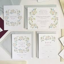 Succulent Wedding Invitations Floral Wedding Invitations Brides
