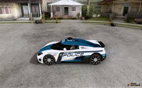 ccx koenigsegg koenigsegg ccx police for gta san andreas