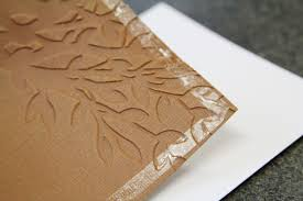 embossing tutorial and easy embossed cards