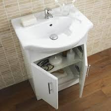 White Vanity Sink Unit Bathroom Single Sink Bathroom Vanity Small Sink Unit Narrow