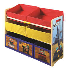 tonka truck toddler bed with storage shelf toys