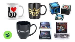 the best gaming coffee mugs and the best gaming coasters to go