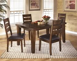 ashley dining table with bench canoe furniture dining room furniture