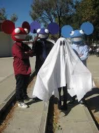 Deadmau5 Head Costume Halloween Deadmau5 Head Diy Instructions Halloween