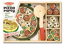 jeux de cuisine de pizza gratuit doug 10167 pizza en bois amazon fr jeux et jouets