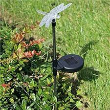 wilson and fisher solar lights wilson fisher solar accent stake light dragonfly ebay