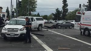 5 car crash at cedar u0026 herndon in fresno kmph