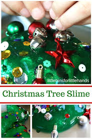 tree slime science activity for