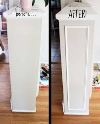 adding trim to cabinets 20 inexpensive ways to dress up your home with molding amazing diy