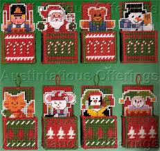 daniel gorman dimensional ornaments cross stitch kit