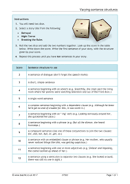 key stage 4 writing skills teaching resources teachit english