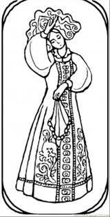 goirl from russian fairy tale coloring page free russia coloring