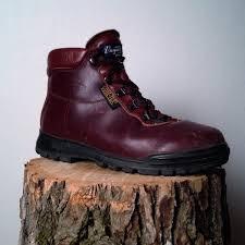 vintage hiking boots by vasque sundowner gtx size 8 5 mens