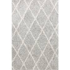 Light Gray Area Rug Shop Carpet Art Deco Veneto Light Grey White Rectangular Indoor