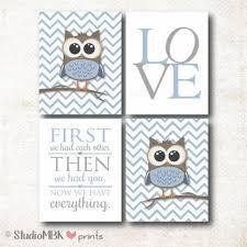 Owl Nursery Decor Basic Owl Baby Room Theme