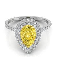 canary engagement rings amazing canary yellow engagement rings collection