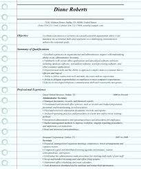 secretary resume examples u2013 inssite